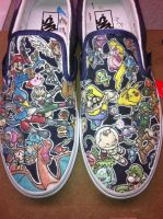 Smash Bro Brawl custom vans by grizlyjerr