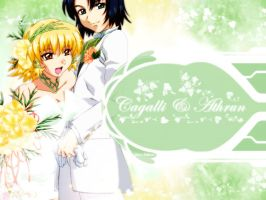 Cagalli + Athrun - Wedding by tenohikari