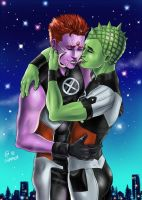 Anole x Indra by Autumn-Sacura