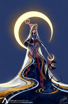SAILOR MOON | Character Design Challenge #18 by Apolar
