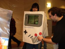 Ohayocon 2009: Gameboy Guy by AnimeLuverGirl123