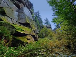 Mountain, granite rocks and pure nature by patrickjobst