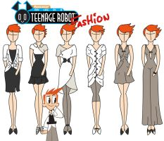 My life as a Teenage Robot fashion: Brad by Willemijn1991