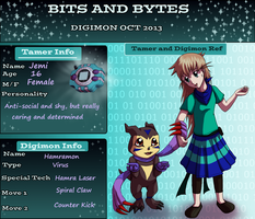 Bits and Bytes Application by JeMiChi
