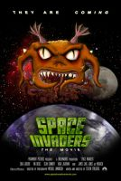 Space Invaders Movie Poster by Junkandres