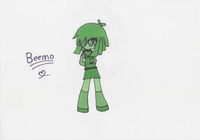 Human BMO (Beemo) by Lady-Bloody7