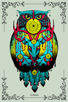 Ink-owl by quidames