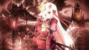 WALLPAPER Samurai Girl FULL HD by Sl4ifer