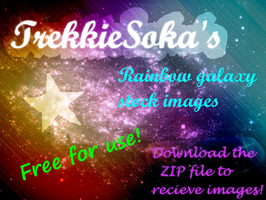 Rainbow Galaxy Stock Images by Chrisily