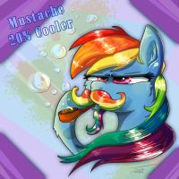 Mustache 20% Cooler by Pimander1446