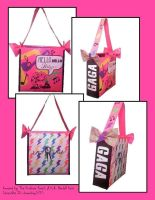 Duck Tape Lady Gaga Bag by ohmeohmy0530