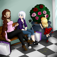 At the Mall by FreakForEternity