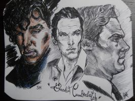 Benedict sketch by Sallysammy