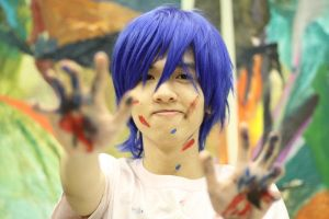 Kaito - Blue Splash 2 by soulCerulean