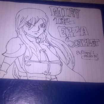 Fairly Tail Erza by ZiggyXD