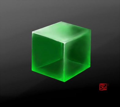 Glass Cube by SnowblindOtter
