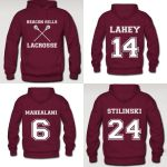 Beacon Hills Lacrosse Team Hoodies by saniday
