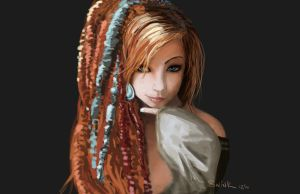 Dreaded Girl by MisCee