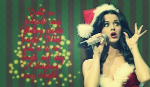 Katy Perry christmas wallpaper by SuperstarElevate