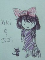 Kiki and Jiji by aiaoicho