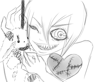Some Bunny loves you - A Little Too Mutch by Salem-soul