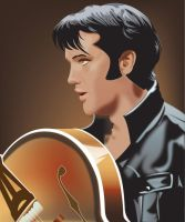 The King of rock and roll by JaZaDesign