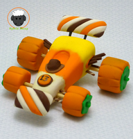 Sugar Rush Racing Kart, Halloween Edition by Hybrid-Sheep