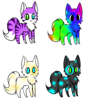 Free Adopts! ~Closed~ by xXKyaliseXx