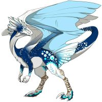 Swiftclaw Dragon Skin Jack Frost by DarkOverlord13