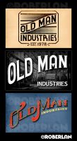 Old Man Industries Logos by roberlan