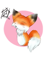 little whistling fox by Shortcake-Middy