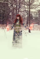 Elven Mage by middlexmind