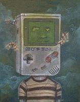 The game boy by Bewheel