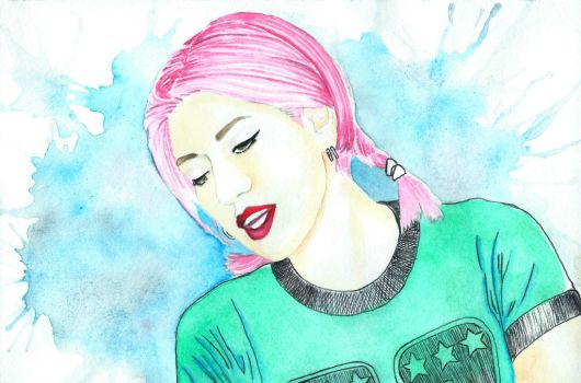 Miki Berenyi from Lush by alfred24