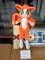 Fidget plushie SOLD! by Mancoin