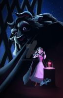 Beauty and the Beast Poster by bluenyte