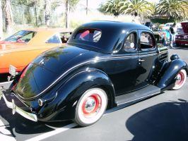 1936 Ford V8 5 window coupe by RoadTripDog