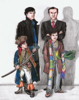 The Pirate and The Doctor by EloAnNe