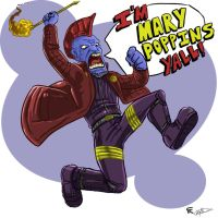 Im Mary Poppins Yall! by gscratcher