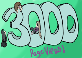 3000 Page Views Finished by HellForeSoma-Yuki
