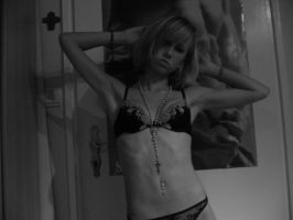 Black and White Body by TinyBlondi