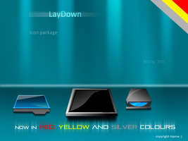 LayDown Icons 3 more colours by mprox