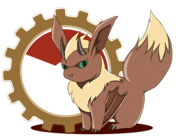 PKMNation: Eevee Fusion Gift Art by reapergeek