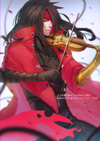 Commission: Vincent valentine by SongJiKyo