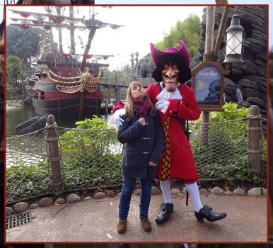 Disneyland Paris - Captain Hook by Tabascofanatikerin