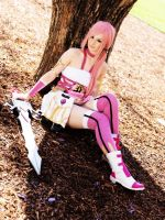 Serah Farron cosplay by ZombieQueenAlly