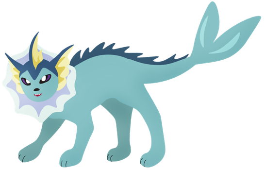 Vaporeon by Meowicorn