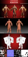 Kratos lowpoly by phanthanhtruc