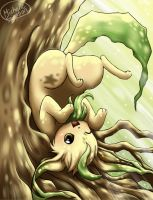 Leafeon by michellescribbles