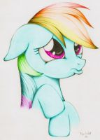 'Dashie.' Coloration. by PoniesInHats